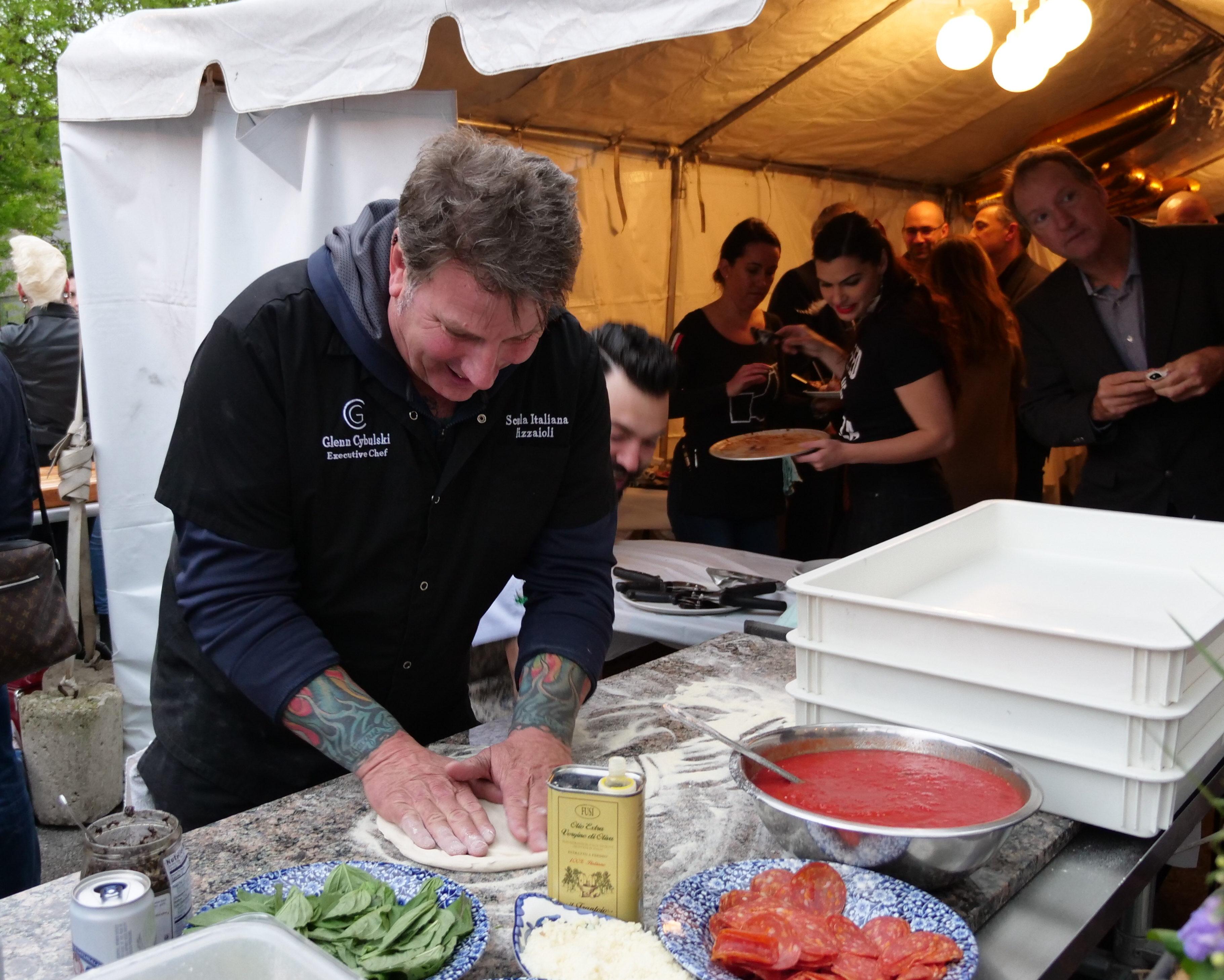 Chef Glenn Cybulski at NRA with Marra Forni 3