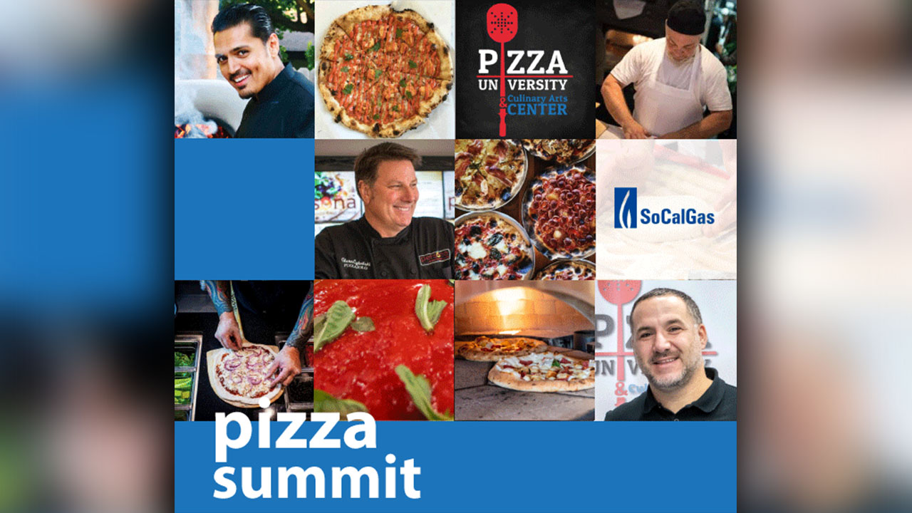 Chef Ali Haider, Glenn Cybulski, Noel Brohner, Francesco Marra Pizza Summit